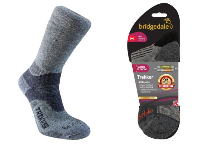 Bridgedale Birthday Trekker Socks