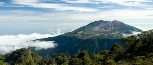 Costa Rica Irazu volcano