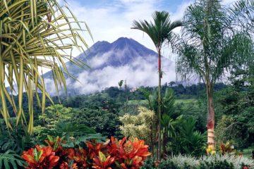 Costa Rica Forest Volcano