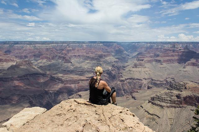Person Grand Canyon