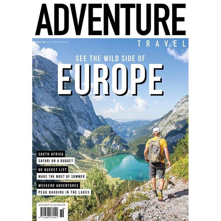 Adventure Travel magazine issue 136