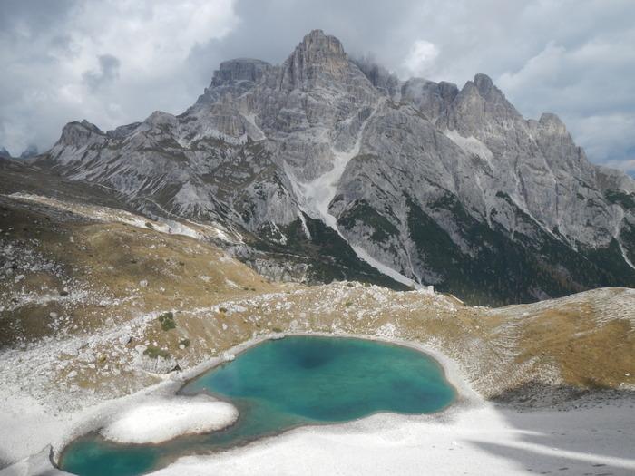 Tre Cime di Lavaredo in Italy