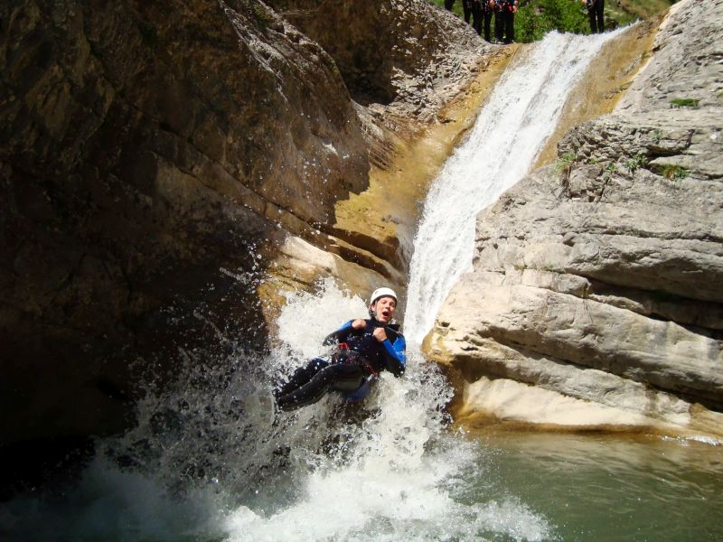 Canyoning in the Southern French Alps