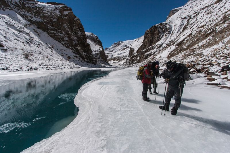 The Chadar Trek in India