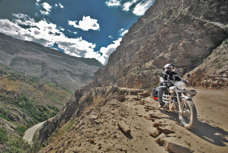 Biking the Himalayas