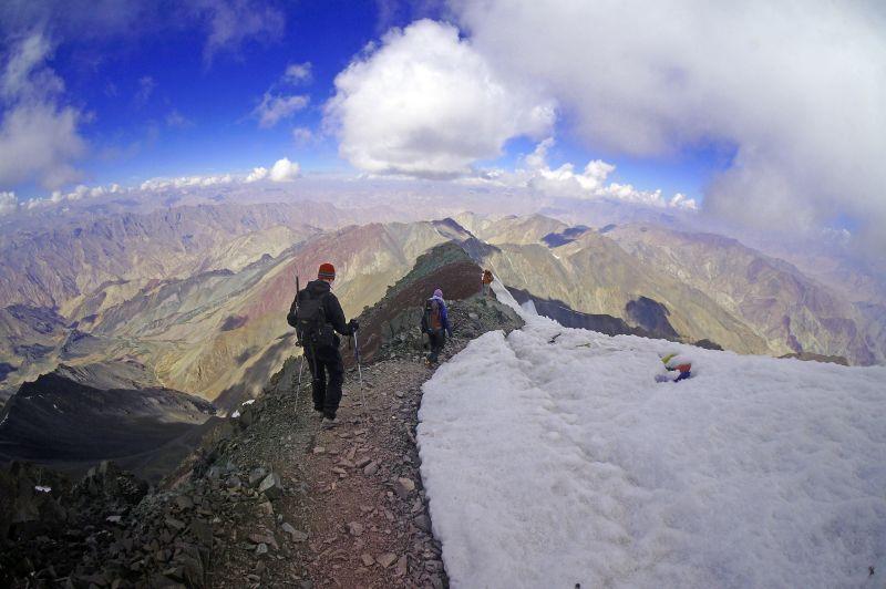 Climbing Stok Kangri, India