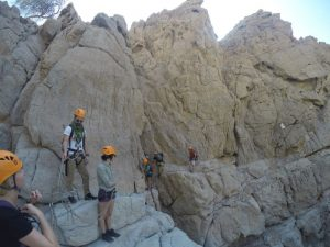 Canyoning in the Hajar Mountains