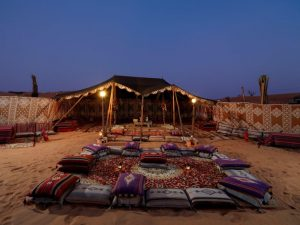 Desert camp in Ras Al Khaimah