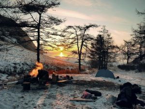 Campfire-Wild-Camping-Water-Purification