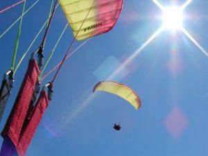 Paragliding over Lienz