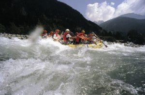 Rafting the River Isel in Austria
