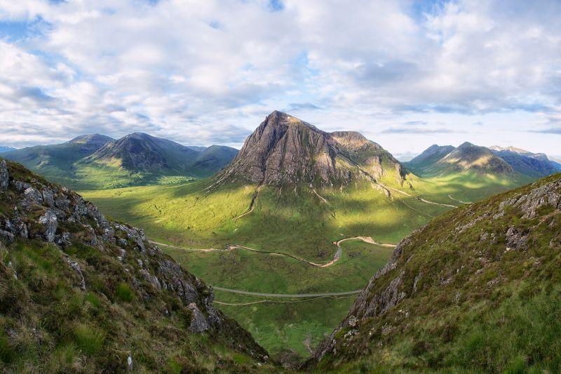 Buachaille Etive Mhor in Scotland