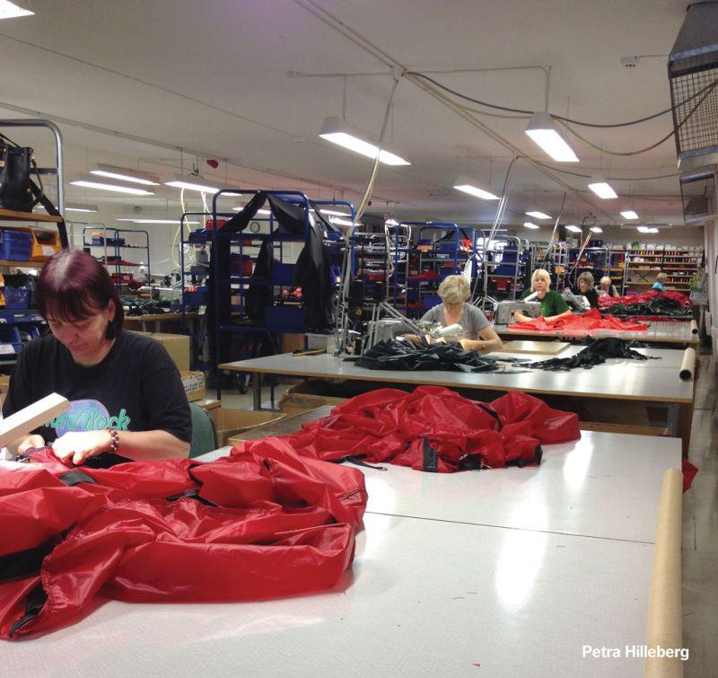 Hilleberg factory
