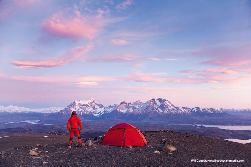 Hilleberg tent in Patagonia