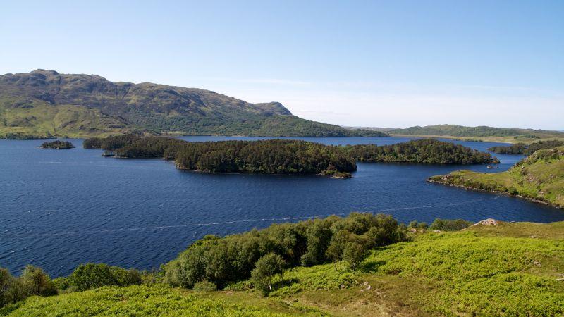Loch Morar, in Scotland