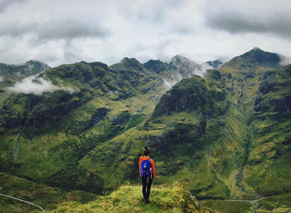 Aonach Eagach, Scotland - world's most exteme hikes