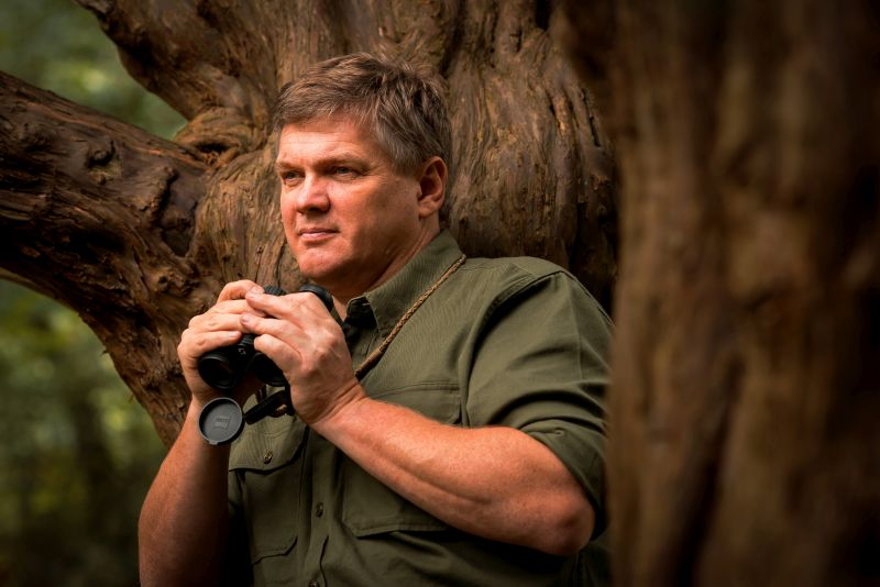 Ray Mears binoculars; how to survive in the wild