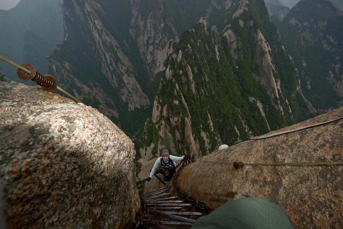 Huashan extreme hikes