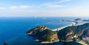 View from Sugarloaf in Brazil