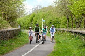 The Bristol to Bath cycle path