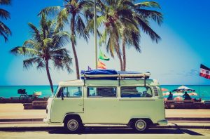 Travelling the world in a VW Camper Van