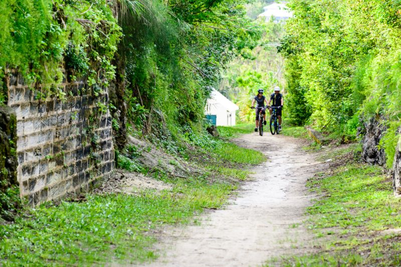 Cycling the Railway Trail in Bermuda