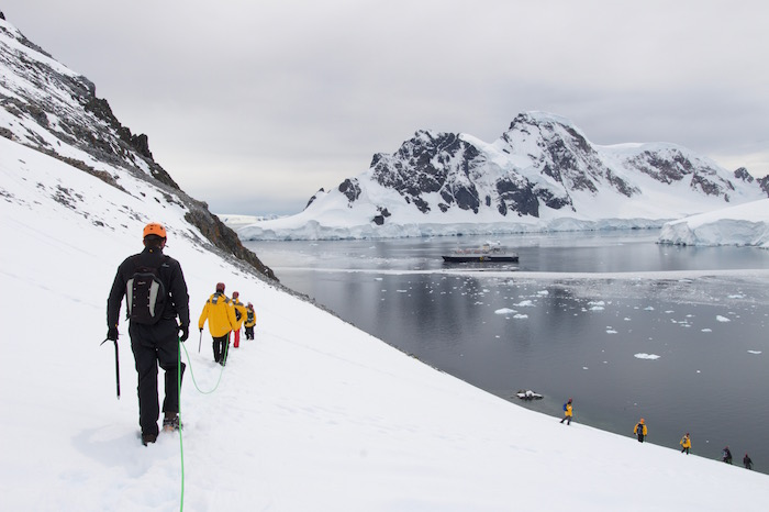 Antarctica mountaineering