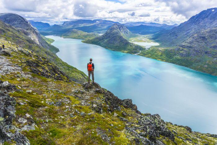 Besseggen Ridge in Norway