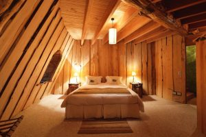 A room at Montana Magica Lodge in Chile