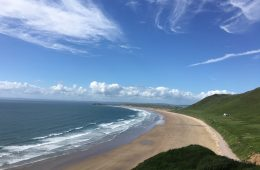 Rhossili in South Wales