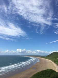 Rhossili Bay in South Wales