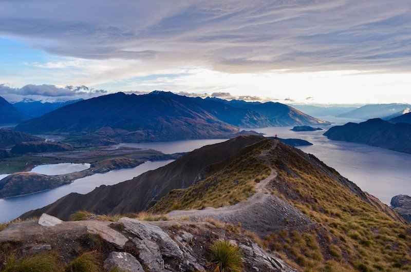 Roy's Peak in Wanaka, New Zealand