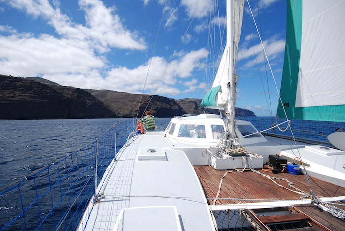Sailing St Helena