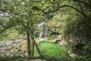 Virje Waterfall in Slovenia