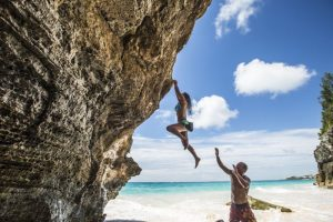 Bermuda rock climbing