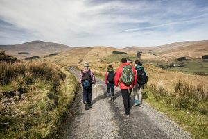 Hiking in the Sperrin Mountains, Northern Ireland