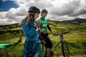 Cycling tour in the Sperrin Mountains
