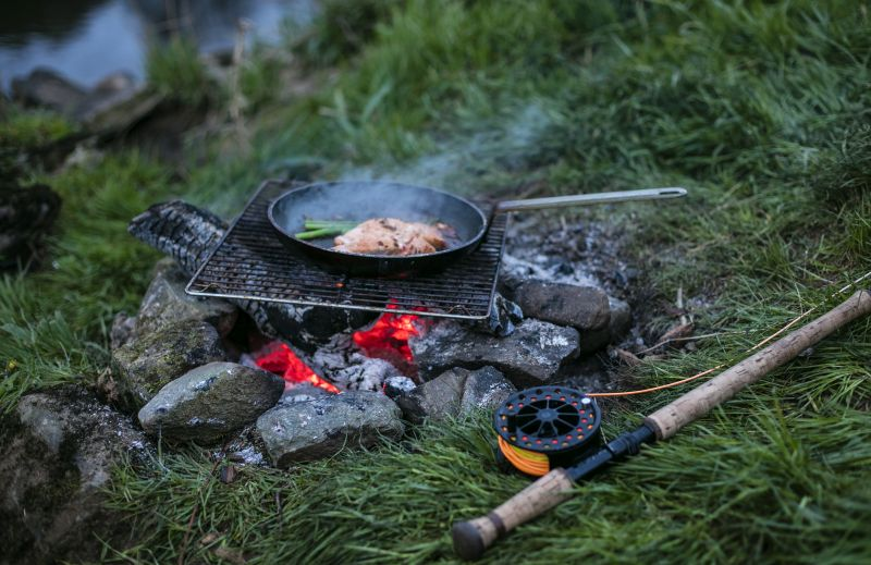 Wild cooking in Northern Ireland