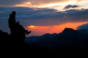 Sunset in Tanzania