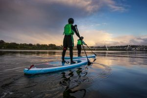 SUP boarding in Northern Ireland