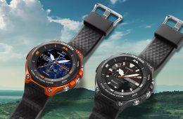 Casio Pro Trek Smart watch