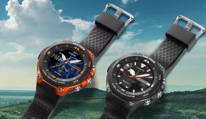 Casio Pro Trek Smart watch