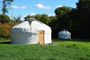 Country Bumpkin Yurts in Leicestershire