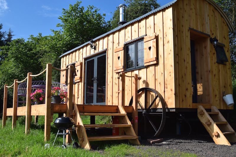 Crai Valley Glamping in the Brecon Beacons