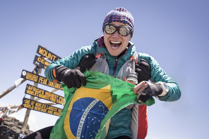 Fernanda Maciel Mount Kilimanjaro