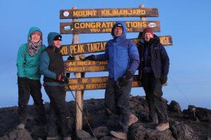 Uhuru Peak Mount Kilimanjaro