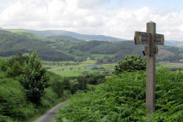 Glyndwr's Way in Wales