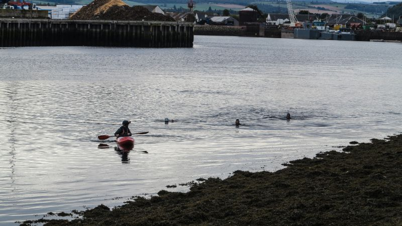 Support Kayak, swim across Scotland