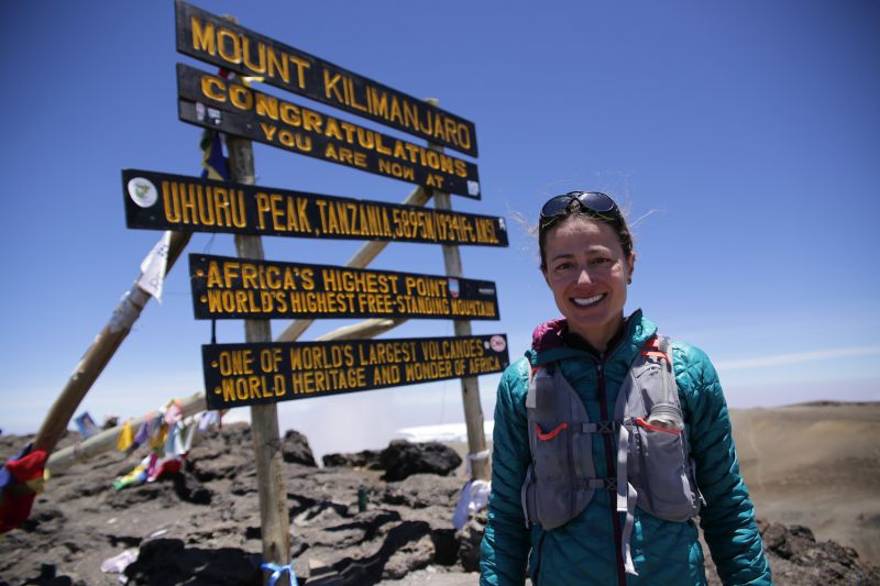 Fernanda Mount Kilimanjaro world record