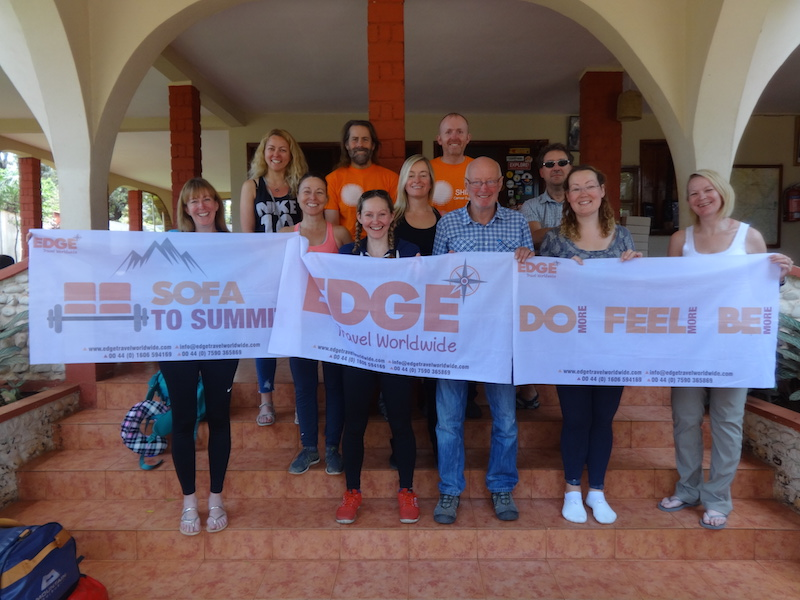 Mount Kilimanjaro Edge Worldwide team